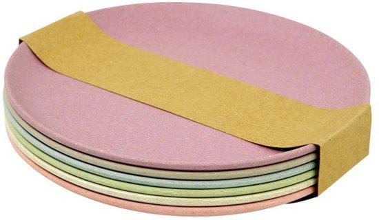 Zuperzozial Take The Cake Gebaksbord à 18 cm/Set van 6