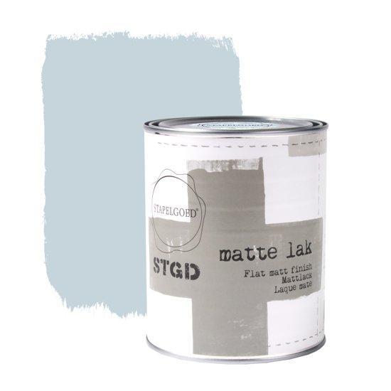 Stapelgoed - Matte Lak - Skyblue - Blauw - 1L