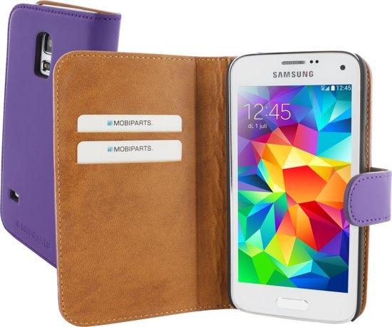 Mobiparts Premium Wallet Case Samsung Galaxy S5 Mini Purple in Limal