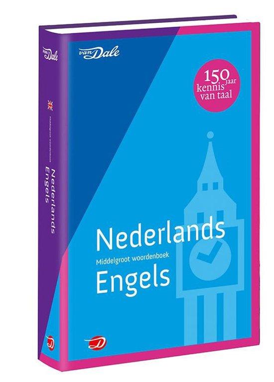 Van Dale middelgroot woordenboek - Van Dale middelgroot woordenboek Nederlands-Engels