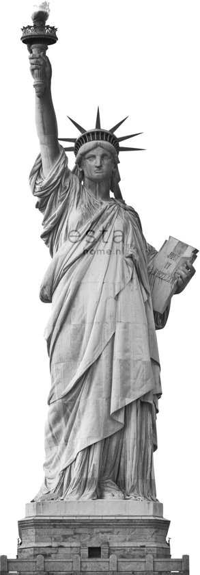vlies photowallXL statue of liberty  - 157701 van ESTAhome.nl