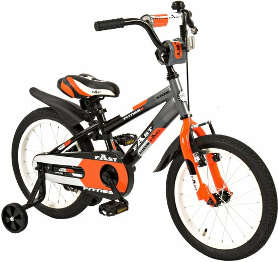 Kinderfiets 16 inch 2Cycle Fast (1637)