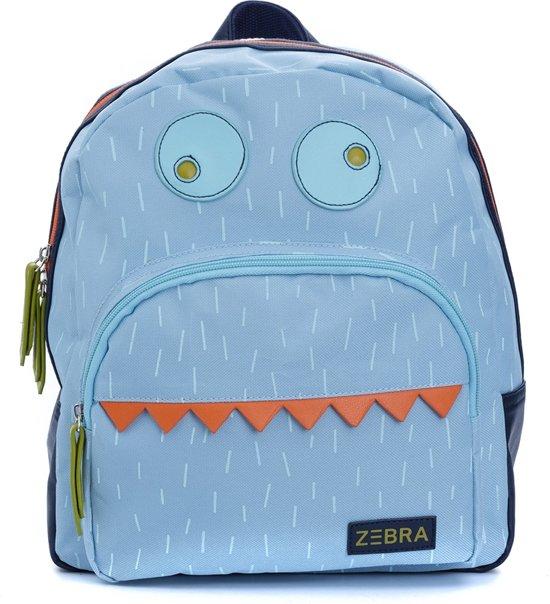 d9e27aacd75 bol.com | Zebra Trends Boys Rugzakje Monster Blue