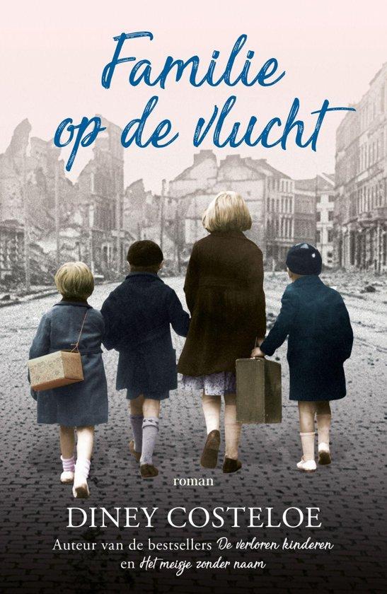 Boek cover Familie op de vlucht van Diney Costeloe (Onbekend)