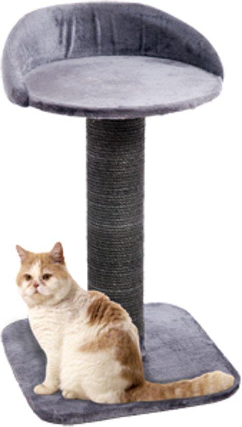 Karlie Big Cat 2 Krabpaal - Grijs - 56 x 56 x 95 cm