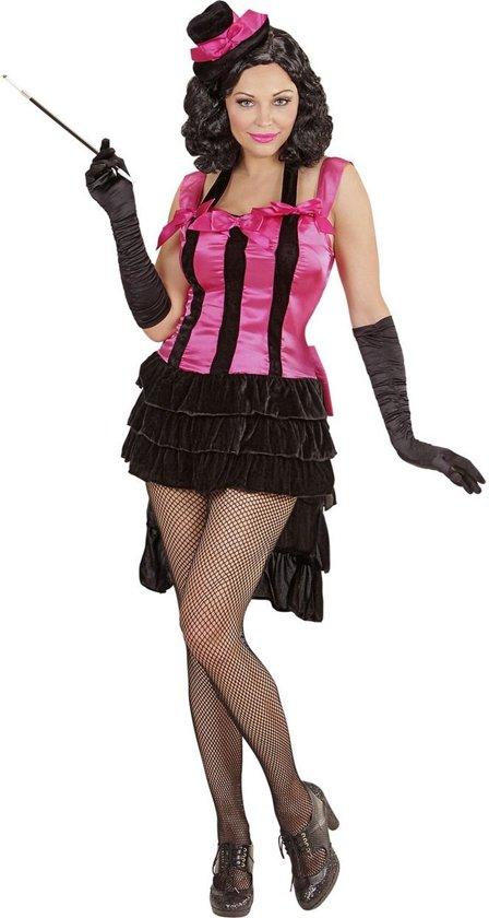 Jaren 20 Danseressen Kostuum   Brutale Burlesque Diva   Vrouw   Large   Carnaval kostuum   Verkleedkleding