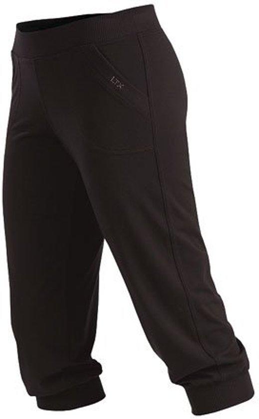 745122ab28c Dames zwarte capri broek Lieve