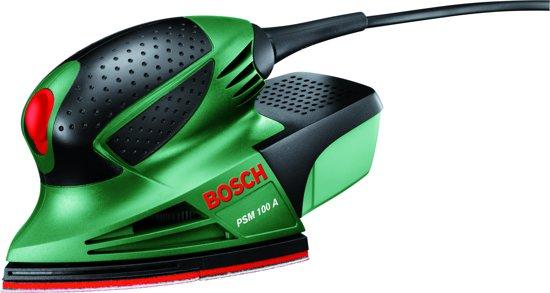 Bosch PSM 100 A Multischuurmachine - 100 Watt - Inclusief 3 schuurbladen en een kunststof koffer