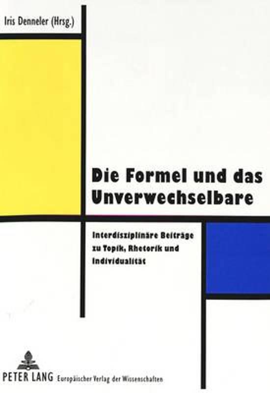 Die Formel Und Das Unverwechselbare