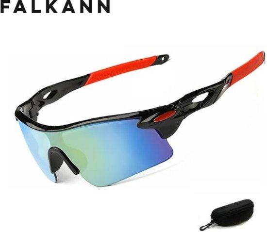 Fietsbril - Sportbril - Zonnebril - Snelle Planga - Zwart - gekleurd glas