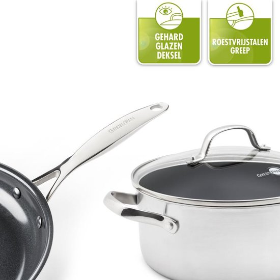 Greenpan Venice Pro Steelpan à 14 cm