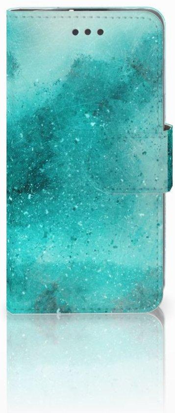 LG L70 Uniek Boekhoesje Painting Blue