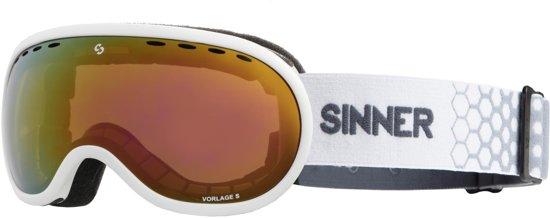 Sinner Vorlage S Unisex Skibril - Wit