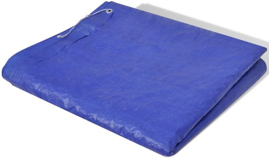 Zwembadhoes PE Rechthoek 394 x 207 cm (Blauw)