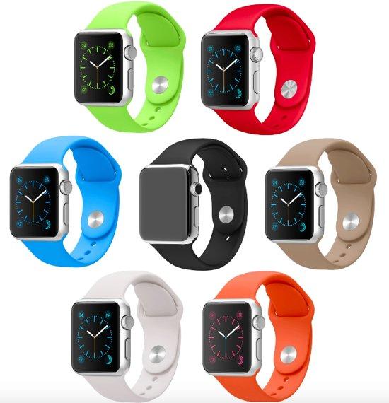 Luxe Siliconen Bandjes voor Apple Watch 42mm - Multicolour Armbanden iWatch – One size