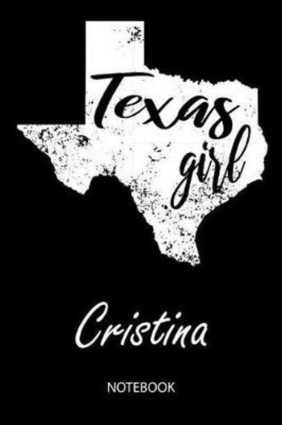 Texas Girl - Cristina - Notebook