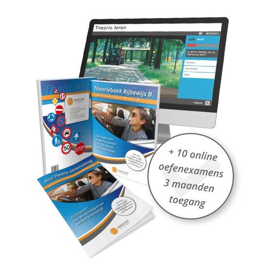 Auto Theorieboek Rijbewijs B Nederland 2020 - Met Samenvatting en 10 Online Oefenexamens (NIEUW!)
