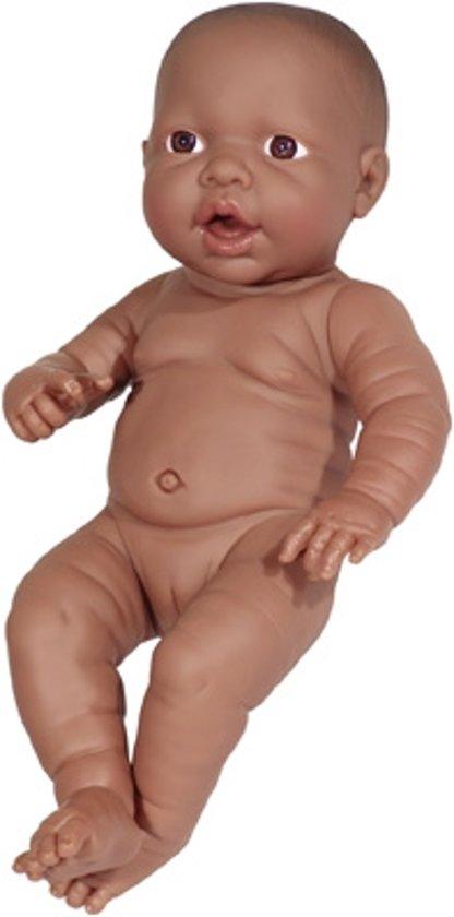 Bayer Babypop Newborn Donker - Meisje - 42 cm