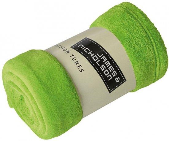 Deken Met Foto.Microvezel Fleece Deken Lime 160 X 120 Cm Fleece Plaid