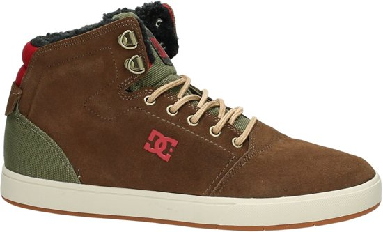 DC Shoes Crisis High Wnt - Sneaker hoog - Heren - CGN Chocolate/Green -
