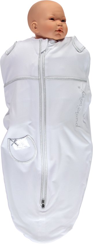 Puckababy Mini - Inbakerslaapzak 3/6 m - Tencel SUMMER