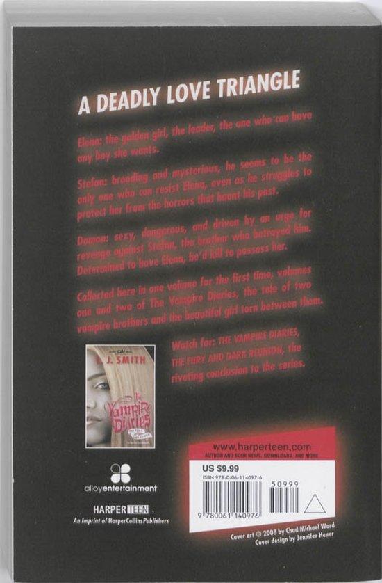Boek cover The Vampire Diaries #1 & 2 van L. J. Smith (Paperback)