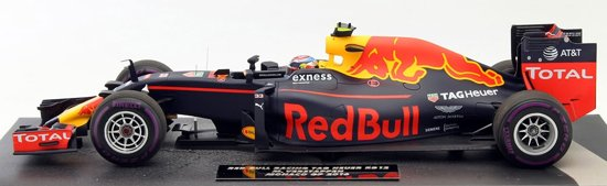 Red Bull RB12 #33 Monaco Max Verstappen GP Formule 1 2016 1:18 Minichamps Limited 300 Pieces