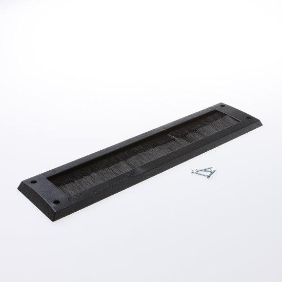 Gezu Brievenbusborstel zwart 340 x 80mm