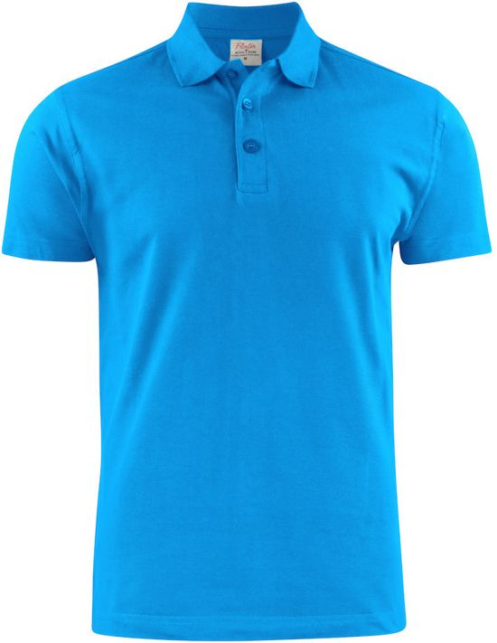 Printer poloshirt Surf light RSX man - 2265022 - Oceaanblauw - maat XXL