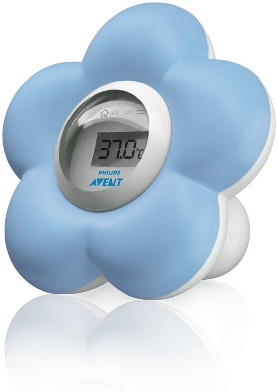 Philips Avent SCH550/20 - Babybad- en kamerthermometer - Blauw