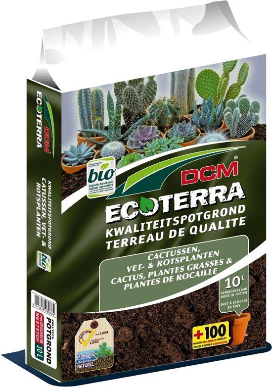 Potgrond Voor Cactussen.Dcm Ecoterra Cactussen Vet Rotsplanten Potgrond