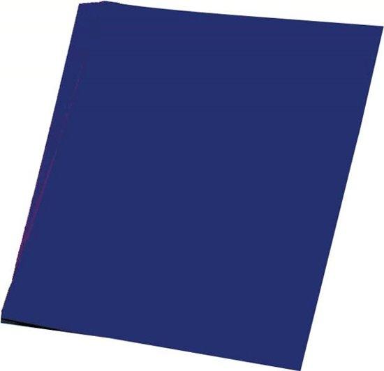 50 vellen donker blauw A4 hobby papier
