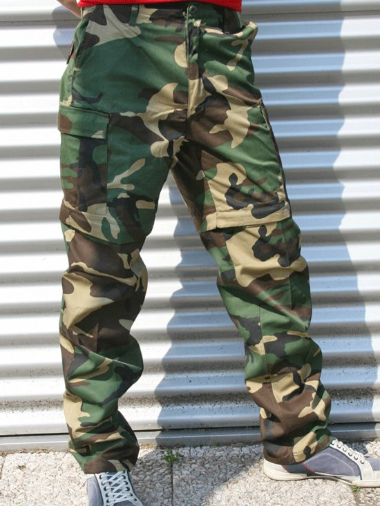Woodland camouflage afritsbroek 3xl