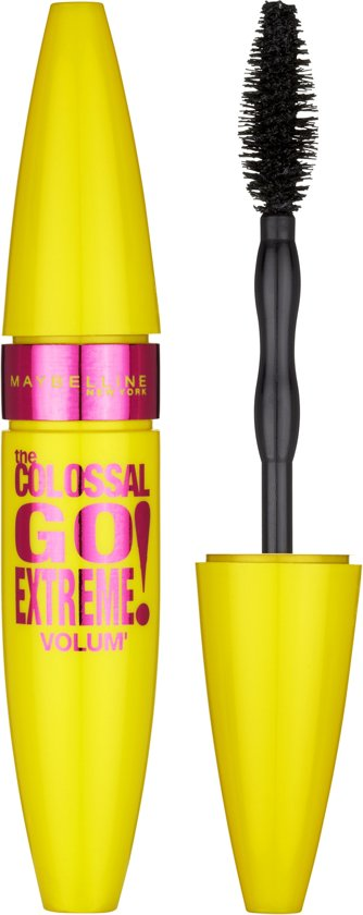 55ef31cb992 bol.com   Maybelline Volum'Express Colossal Go Extreme! - Zwart ...