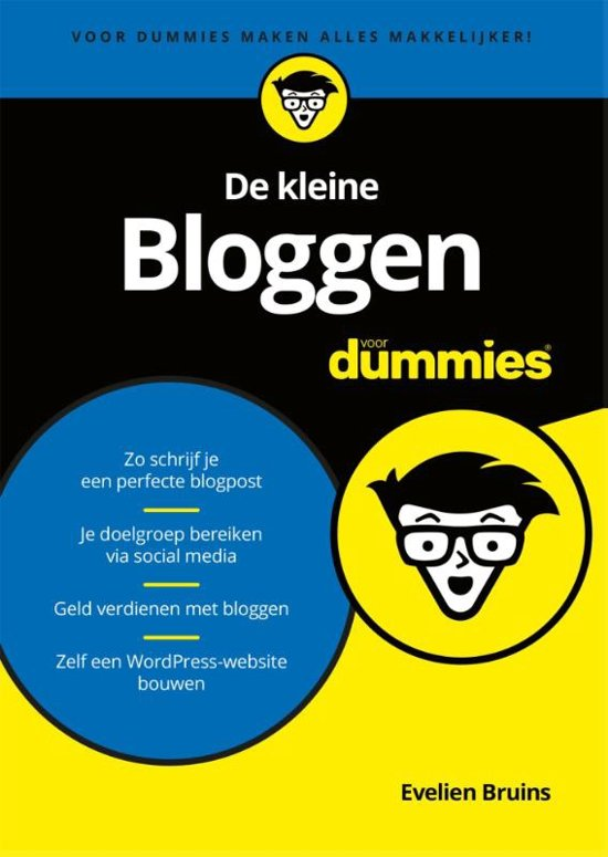 De kleine Bloggen voor dummies – Evelien Bruins