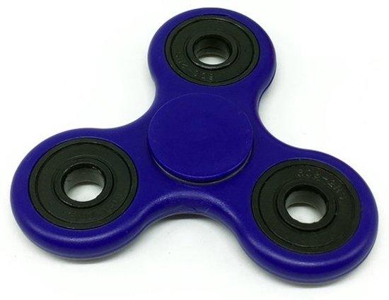 Fidget Spinner Kobalt  blauw fidgetspinner