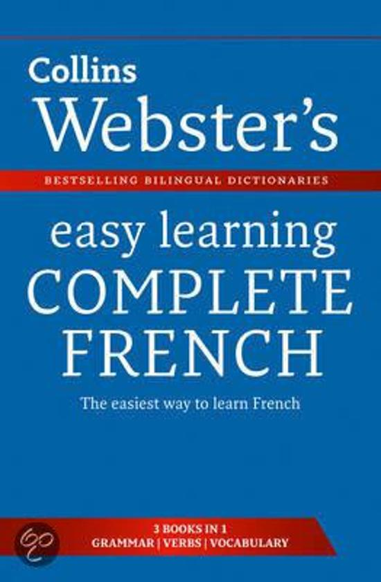 Webster's Easy Learning French Complete