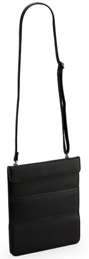 Tablet - Schoudertas - Volwassenen - Travel Wallet XL -Zwart