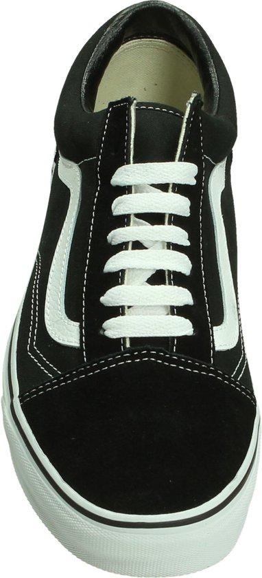 Vans 42 Skool Maat Heren Zwart Men Old Sneakers qqwAfaTZ