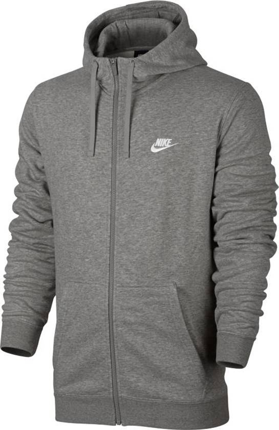 check out 05d22 0e73e Nike Nsw Hoodie Fz Ft Vest Heren - Grijs