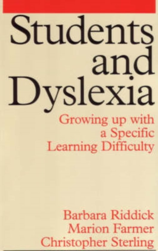 Students and Dyslexia