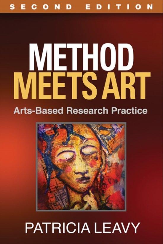 Boek cover Method Meets Art, Second Edition van Patricia Leavy, Phd (Paperback)