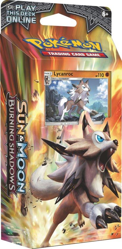 Pokémon Sun & Moon Burning Shadows Lycanroc