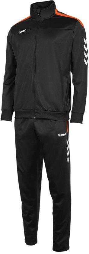 Hummel Valencia Polyester Pak - Trainingspakken  - zwart - S