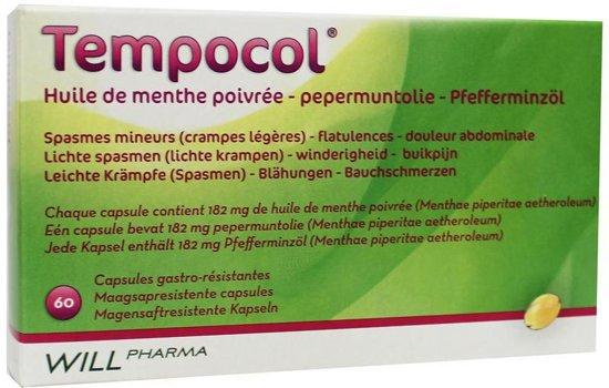 Tempocol Pepermuntolie - 60 capsules kruidengeneesmiddel