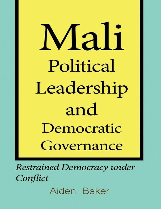 Mali Political Leadership and Democratic Governance