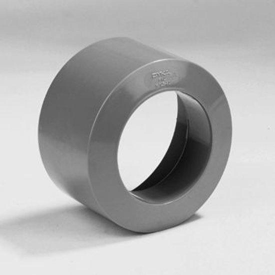 Dyka Inzetverloopring PVC grijs 100 x 125mm