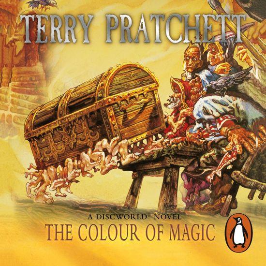 Boek cover The Colour Of Magic van Terry Pratchett (Onbekend)