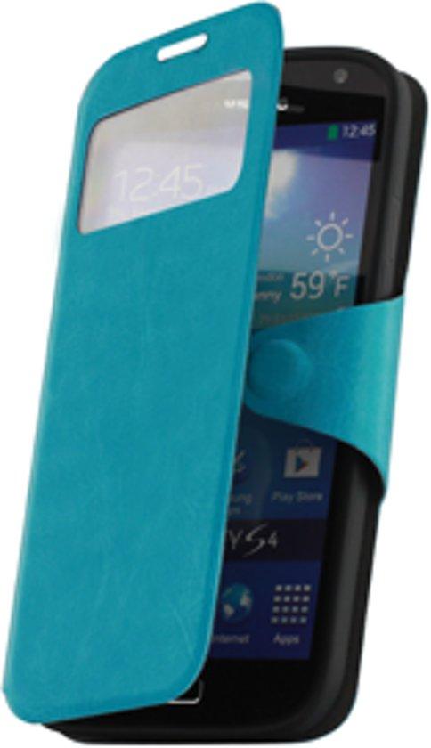 Samsung Galaxy S4 i9500 Window hoesje Turquoise