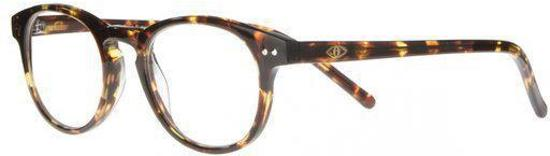4d631b1a9088ce Icon Eyewear RCD802 Boston Goldline Leesbril +1.00 - Tortoise